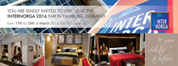 Internorga Fair in Hamburg from 11th to 16th March 2016